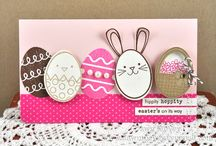 EASTER CARDS / by Tina Hall