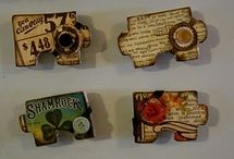 Altered Puzzle pcs / by Valerie Wells