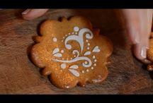 bemutatott torta dekoráció