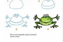 Step by step drawings