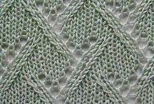 Knitting - Stitches / Stitch Patterns, Lace, Cables, etc
