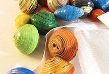 Beads and jewellery making for Samara / Ideas for bead making with Samara