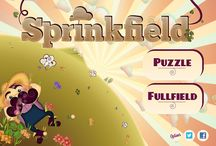 Sprinkfield / Sprinkfield is a challenging and entirely unique game for iPhone and iPad. Help Walter Sprinkfield water all his fields in this brand new logic puzzle. Don't falter, just water and help Walter!