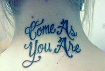 tattoos / by Kara Keene
