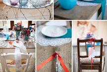 Hochzeitsdekokoration / Dekoration, Ideen zur Hochzeit, Hochzeitsdekoration
