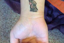 Tattoos / Inspiroivia tatuointeja