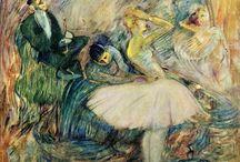 Painting. Henri de Toulouse-Lautrec
