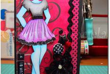 Prima Dolls / Prima Dolls stamp