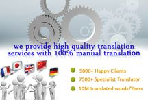 Manufacturing Translation Services