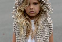 Cappelli e abiti bimbi il lana