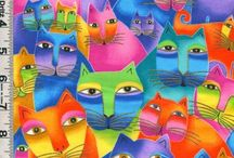Laurel Burch felines