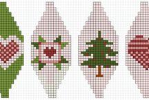 Stickade julekuler