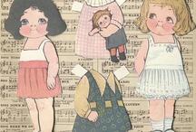 paper dolls - Dolly Dingle