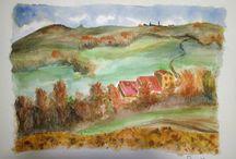 Rural sketches & landscapes