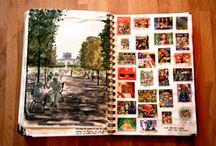 SKETCHBOOK JOURNALS / Creative Ideas for Journaling, Sketchbooks, Scrapbooks, etc.