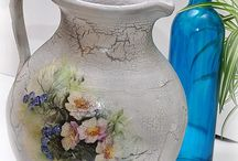Dekupáž keramika