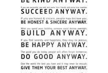 The Good Stuff / by Monica Walker