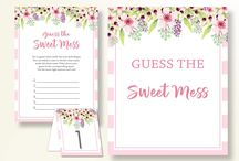 Baby Shower Products in Pink Flowers Theme, Invitations, Games, Decorations And More / Hi, thank you for visiting this beautiful baby shower board with products in Pink Flowers theme. Here, you'll find invitations, games and activities, decorations and more with over 60 products in this theme.
