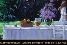 André Bertounesque / Artiste peintre de renome