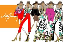 SULLY'S SKETCHES / Sketches by fashion designer SULLY BONNELLY I sketches I fashion I style I illustrations I color I colors I fashion illustration I designer I www.sullybonnelly.com