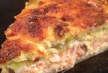 Recettes tarte saumon