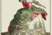 Baroque scenic costumes