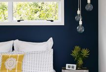 BLUE BEDROOMS / Blue is considered beneficial to the mind and body. It slows human metabolism and produces a calming effect. http://jensen-beds.com/