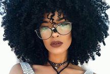 Peinados afros