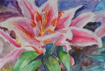 ART-MY PAINTINGS / I have experimented with many mediums in the past but have found a true passion for watercolor. Original watercolor paintings by Celia Blanco.  For updates and purchase information go to http://watercolors-celiablanco.blogspot.it/