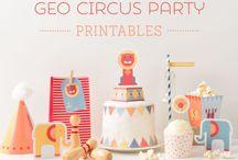 Ideas fiestas Party Circus