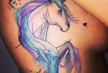 Tatuagens de unicórnio