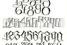 Lettering References