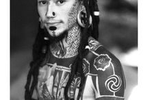 Native Tribes/Body modification/Piercings/Tribal tattoos. / by Rukus Grrl