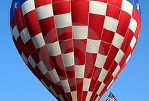 Hot Air Balloons / by Oma's Fabric and Gifts