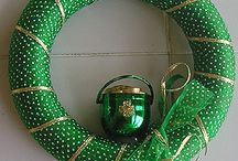 st.patty's decorations / by Becky Worthington