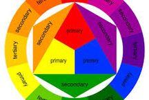 Teoria del colore / Teoria del colore, palette varie, ruote cromatiche