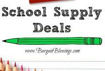 School Supply Deals
