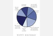 Birthdays / by Brianna Holmstrom