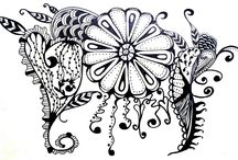 Adult Coloring Pages / Adult coloring pages :) / by Angie T