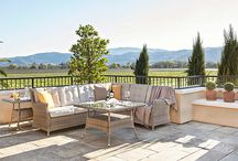 Outdoor Collection 2015 / Dania Furniture 2015 outdoor collection. Thank you to Round Pond Estates near Napa, CA for hosting our photo shoot. Hooray for outdoor entertaining!  / by Dania Furniture
