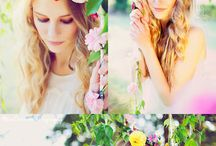Flower photoshoot