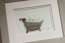 Bath time art