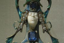 Art Nouveau Art Deco Jugendstil Jewellery