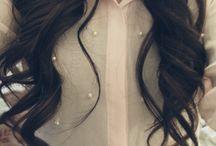 hair + beauty ♡ / hairstyles, beauty items, make up, nails, nail patterns, afro, black hair