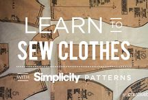 Sew Online with Simplicity + Creativebug / Sew along online with Creativebug and Simplicity patterns. / by Simplicity Creative Group