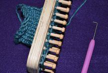 Knitting - hand and loom