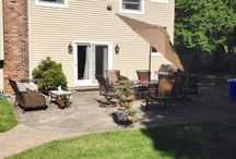 Cambridge Renaissance Paver Patio w/Firepit   East Northport, N.Y 11731 / Outdoor living spaces create a place to experience the warmth of family and friends. Fireplaces, fire pits, outdoor kitchens and more!  Free Estimates: Paul Saladino - Office: (631) 678-6896 - Mobile : (631) 404-5410  www.stonecreationsoflongisland.net  #LongIsland #OutdoorLiving #Patios / by Stone Creations of Long Island
