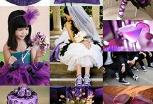 Violet Wedding / #Amor #Wedding #Boda #Idea #Love #violet #purple