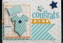 Tarjetas bebé e infantiles / Baby and child cards
