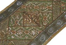 Beaded Wall Tapestries / Wall Hangings and Patchwork Tapestries handcrafted by Indian artisans